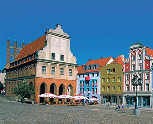 BESSER LEBEN SERVICE Gratisreise: Pommerns schönste Städte
