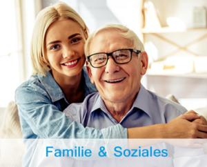 Übersicht Ratgeber zum Thema Familie und Soziales